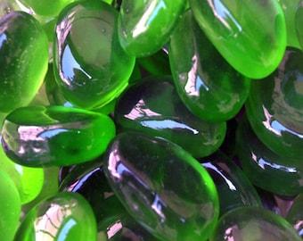 Emerald Decorative Beach/Sea Glass - 1 Kilo (2.2 lbs.)