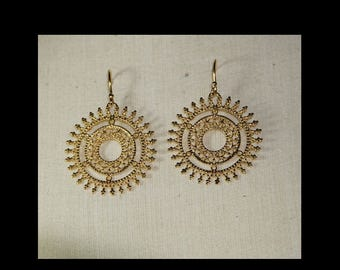 Goldplate earrings