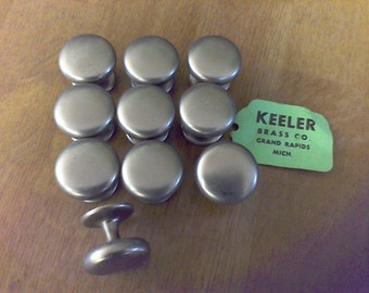 9  Pulls ,Keeler Brass co. ,Door pulls woodworking supply, cabinet,9 pulls, Tarnished Silver finish