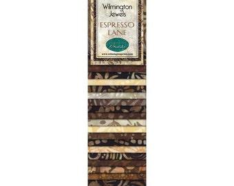 Wilmington Jewels Batiks Espresso Lane Strips
