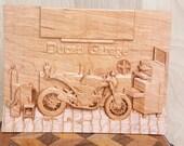 Vintage Motorcycle Art ~ ...