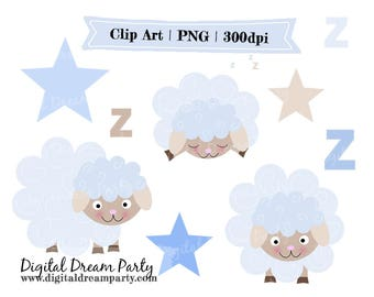 Sheep Clipart Baby Shower Commercial Use High Quality PNG