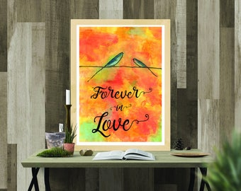 Printable Download - Forever in Love