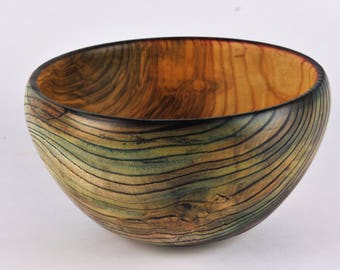 Dyed white ash bowl