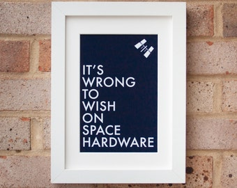 Space Hardware - Gicleé print