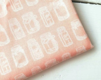 Rustic Elegance - Rustic Jar(Cream on Peach backgroud) - Carta Bella - Riley Blake Designs