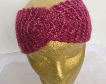 Raspberry Twist Headband