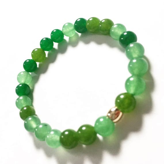 Multi Shade Jade Bracelet 8mm, unisex, mens, women, gemstones, yoga, meditation