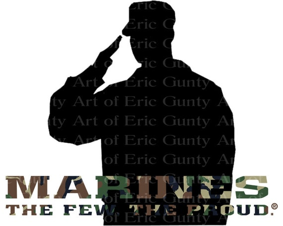 Marines Camo Birthday - Edible Cake and Cupcake Topper For Birthday's and Parties! - D21919