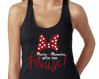 Making Memories with the Mouse black tank