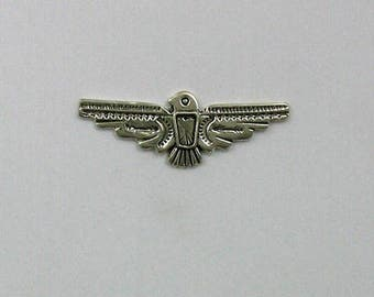 Sterling Silver 32mm Thunderbird Charm