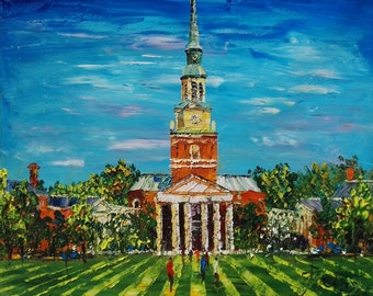 Campus, Wake Forest University -Pen King-A1175