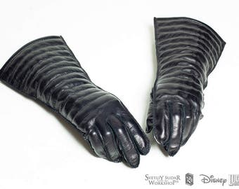 Darth Vader Gloves from IV episode / level three certification / Star Wars / A New Hope / Sith Lord / leather / ANH / screen accurate