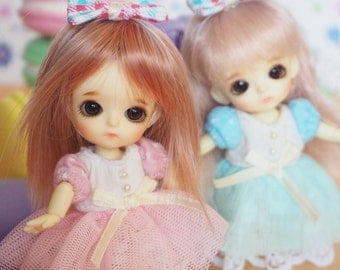 bjd doll outfit clothes - Candy Set for lati white fl pukipuki Girl