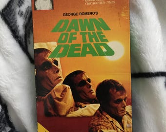 Dawn of the dead vhs