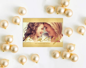Gold Christmas Cards