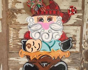 Personalized Door Hanger - Christmas Door Hanger - christmas door decor - Christmas Decorations - Christmas Decor - Manger