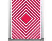Custom three Minimal Squares Vertigo posters on paper