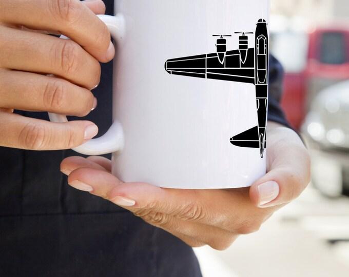 KillerBeeMoto:  U.S. Made B17 Flying Fortress Bomber Coffee Mug