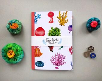 Coral A5 Notebook, Sketchbook, Journal, Doodle Pad