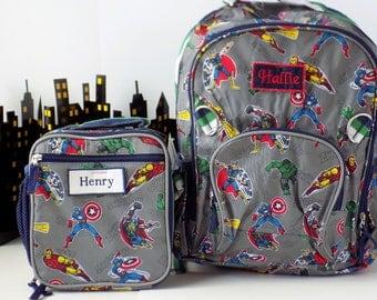 boys backpack/pottery barn Backpack/school backpack/personalized backpack for boys/monogram backpack/boys bookbag