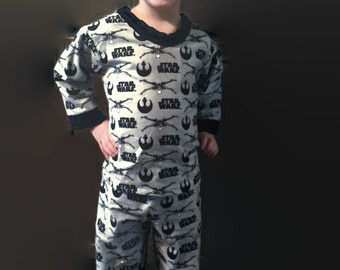 Star Wars flannel pajamas,boys flannel pajamas,toddler flannel pajamas,Star Wars toddler pajamas,gift for boy,flannel pajamas,Star Wars