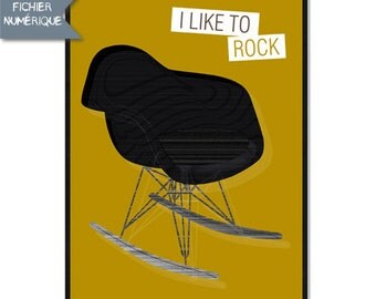Digital Poster - Design Chair