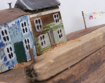 MOR AWEL ,driftwood houses, hand made in North wales