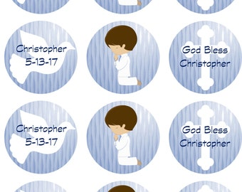 Communion/Confirmation Edible Image Cupcake Toppers