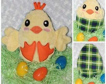 Peekaboo Animal, Peek A Boo Chick, Plush Chick,Stuffie,Stuffed,Plush Animal