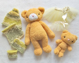 Clothing for toys, Dress up Toy, Toy Bear, Stuffed Toy Animal, Gift for Children, Cute Soft Toy, Plush Teddy Bear, Stuffed Bear, Plush Toy