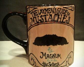 Mustache Mug: Magnum P.I.