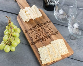 Cheese Board, retirement gifts, novelty gifts, gifts for wife, bridal, mother of bride, Paddle Board, Custom Cheese Board, Wood Cheese Board