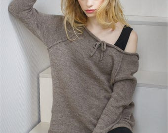 Sweater Jumper Wool, Loose Sweater, Loose Sweater Wool, Wool Warm Sweater, Oversized Wool Sweater, Wool Boho Sweater, Oversized Loose Top