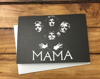 Queen Mother's Day Card