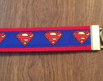 Superman Key Chain Zipper Pull