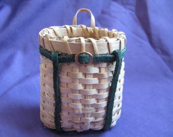 miniature ash packbasket