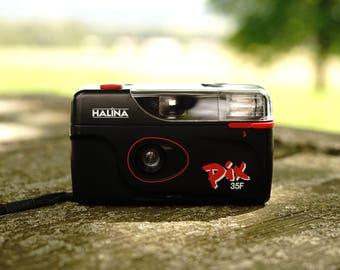 Halina PIX 35! Cool cheap 35mm compact camera.