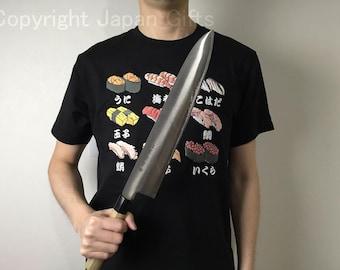 "Japanese ARITSUGU Alloy Steel Gyuto Kitchen Chef Knife 330mm 12.99"" Japan AT075s"