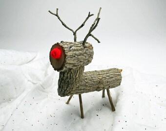 renos del polo norte madera ciervos navidad decoracin rstico registro reno madera artesanales ciervo primitiva navidad