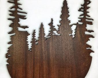 Walnut Wall Trees