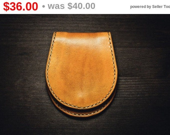 Old Leather Coin Purse /Leather Coin Purse/Hoof Style/Coin Wallet/Leather Coin Purse