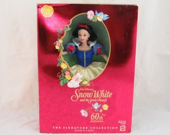 Walt Disney's Snow White and the Seven Dwarfs 60th Anniversary Barbie, The Signature Collection, Second in a Series
