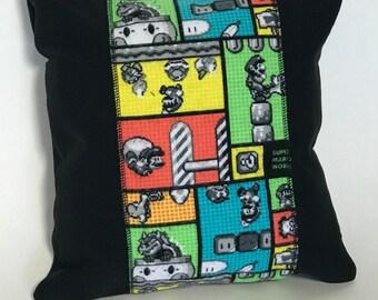 Mario Bros. Brothers Luigi Nerd Geek Pillow