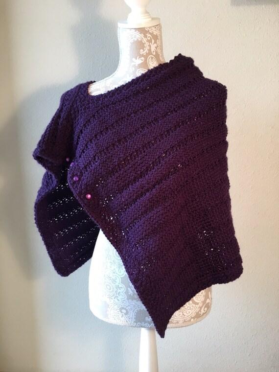 Resolutions Wrap - a loom knit pattern