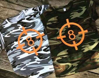 Camo Target Shirt