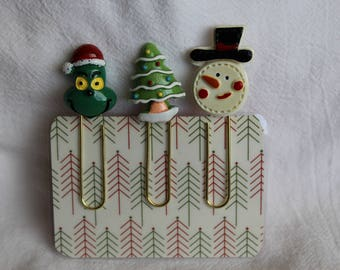 Christmas Cabochon Planner Paperclip