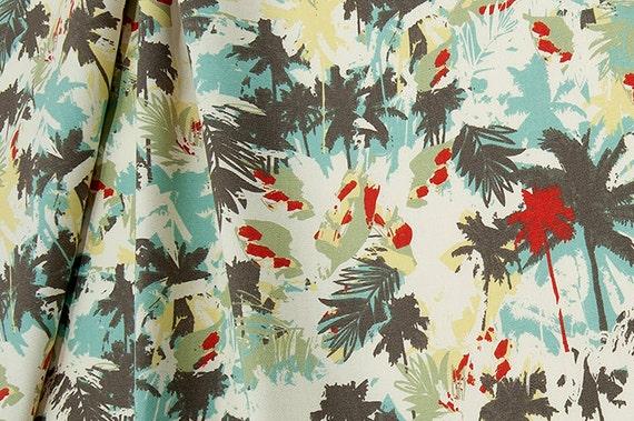 Fabric Tropical Cotton Home Decor Fabric Drapery Fabric Curtain Fabric ...