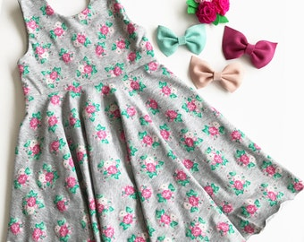 Floral twirly dress