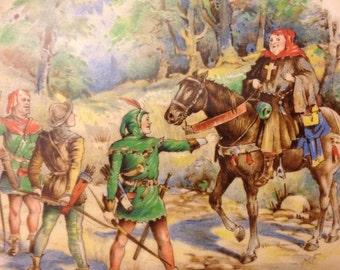 c.1940 Robin Hood Plate
